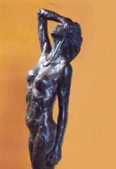 Torso femminile '78 bronzo cm48