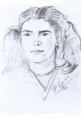 Olga 1952 matita