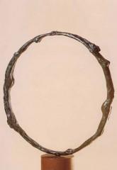 Bozzetto per la vita '88 bronzo diam. cm30