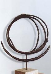 Scultura spaziale '93 bronzo h cm90